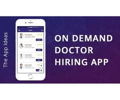 On Demand Dr.hiring app | Doctor booking app | Doctor Appointment Booking App