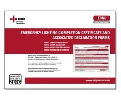 Emergency Lighting Certificate