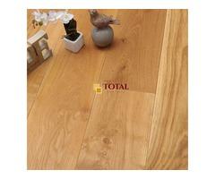 Natural Engineered Oak Oiled   Total Wood Flooring