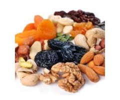 Roduction and supply of dried fruits, nuts and legumes, as well as dried vegetables and natural oils