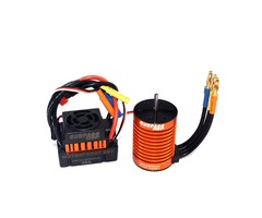 Surpass Hobby Waterproof F540 3300KV Brushless Rc Car Motor +45A ESC Combo Set For 1/10 Rc Car