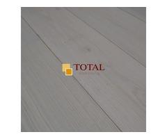 Engineered Oak Brushed White Oiled   Total Wood Flooring