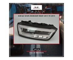 AUDI Q3 XENON HEADLIGHT RIGHT 2015 TO 2018
