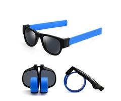 Unisex UV400 Polarized Folding Bracelet Glasses Creative Sunglasses Fashion Funny Eyewear