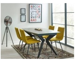 Buy Glass Dining Table Set Online-Swagger Home Furnishings