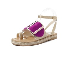Women Ladies Gladiator Flat Summer Sandals