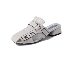 Hollow Out Comfortable Women Square Heel Sandals