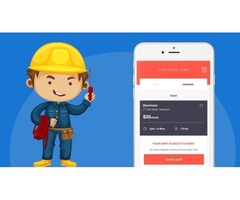 On Demand Electrician hiring App