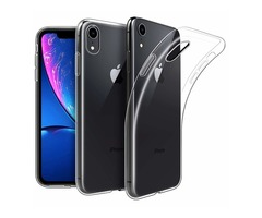 """Bakeey Protective Case For iPhone XR 6.1"""" Clear Transparent Soft TPU Back Cover"""