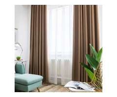 Shop Curtains Blackout Online Only at Voila Voile