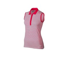 Nike Women's Victory Solid Sleeveless Polo