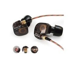 KZ ATE 3.5mm Metal In-ear Wired Earphone HIFI Super Bass Copper Driver Noise Cancelling Sports