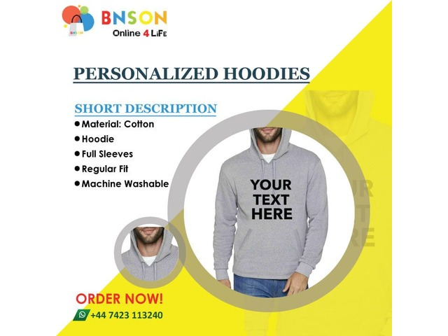 Hoodie With Own Print | free-classifieds.co.uk