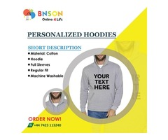 Hoodie With Own Print