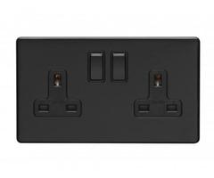 Buy Black Plug Socket at Handles4u