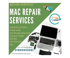 Mac Services Center in Oxford | Mac Screen & Battery Repair for a reasonable price