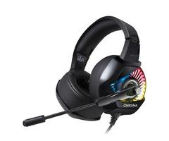 ONIKUMA K6 Gaming Headset Noise Reduction Stereo RGB Light Headphone 50mm Unit Bass Headset