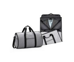 Multifunctional Travel Bag Folding Shoulder Handbag Camping Waterproof Tote Bag Suit Storage Bag