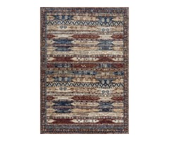 Alhambra Rug by Mastercraft Rugs in 6576A Ivory/Red Design