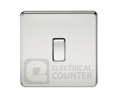 Buy Polished Chrome Light Switches at Electrical Counter