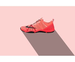 How can you view the shoe while designing?