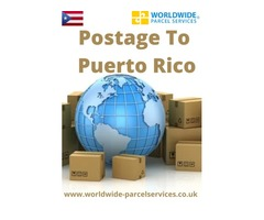 Postage To Puerto Rico With Worldwide Parcel Services