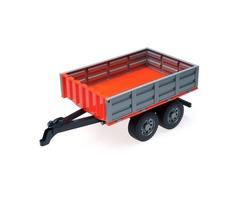 Double E Rc Car Parts Trucks 1/16 Farm Tractor Toys Dump Trailer Engineering Machine Model