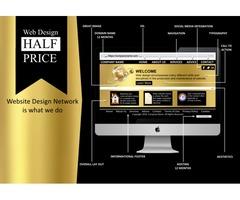 Website Design - HALF PRICE I Domain I Hosting I Email I SEO I Mobile Responsive
