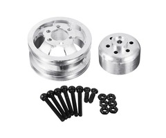 1PC WPL Metal RC Car Wheel Hub For 1/16 WPL 4WD B14 B24 6WD B16 B36 JJRC Q60 Q61 RC Car