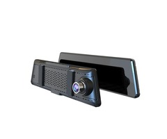 L01 10 Inch Full Screen Streaming Media Double Lens HD Night Vision Car DVR