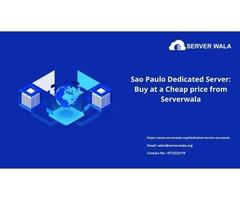 Sao Paulo Dedicated Server: Buy at a Cheap price from Serverwala