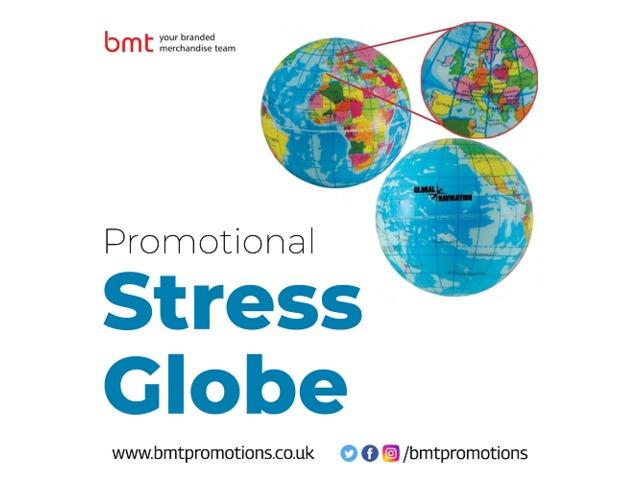 Promotional Stress Globe | free-classifieds.co.uk