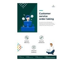 Customer Service Order Taking | Pixelette Technologies