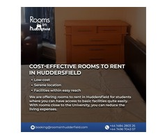 Cost-effective Rooms to Rent in Huddersfield