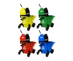 Kentucky Mop Bucket & Wringer - Buckets & Wringers