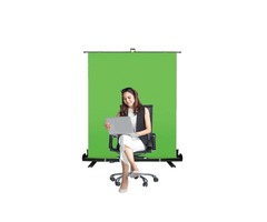 Collapsible Chroma Key Green Screen Panel for Live Meetings in UK