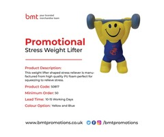 Promotional Stress Weight Lifter