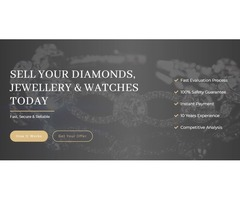 Want to Sell Your Old Diamond Jewellery in UK?