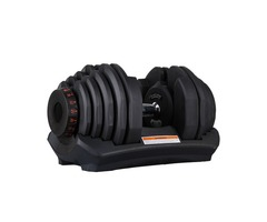 SISPANDA 24kg 40kg adjustable dumbbells set with stand in stock for home gym favorable price offered
