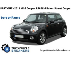 PART OUT - 2013 Mini Cooper R56 N16 Baker Street Coupe