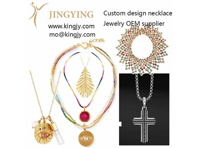 Custom necklace 18k gold 925 sterling OEM manufacturers suppliers   free-classifieds.co.uk