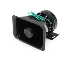 12V 8 Sound Car Truck Warning Alarm Loud Speaker Siren Horn MIC System Megaphone