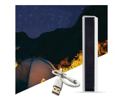 Solar Power 30 LED USB Rechargeable Waterproof Magnet Camping Light 4 Modes Portable Emergency Light