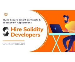 Solidity Blockchain Development - Employcoder