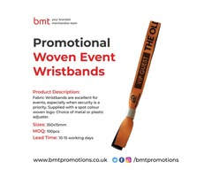 Promotional Woven Event Wristbands | free-classifieds.co.uk