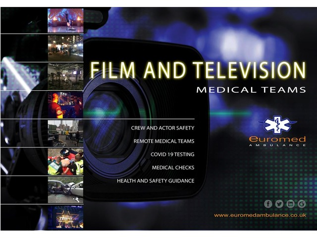 Covid testing for TV and Film Production | free-classifieds.co.uk