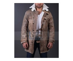 Hardy Bane Crocodile Genuine Coat