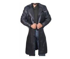 Blade Runner Ryan Gosling Black Leather Fur Jacket