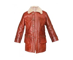 Dark Knight Rises Bane Real Sheepskin Coat