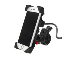 12-24V2.1A Universal Phone GPS USB Chargeable Holder For Electric Scooters Motorcycle Bike Bicycle
